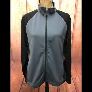 Be inspired black/gray lightweight jacket large